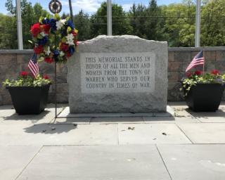 Warren veterans' memorial